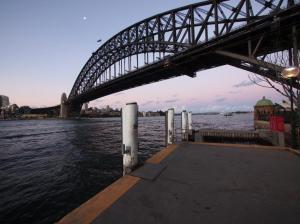 Harbour-Bridge im Abendlicht