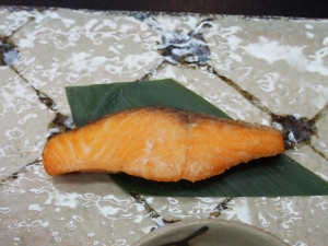 gebratener Fisch