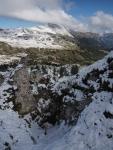 Doline im Gipsgestein