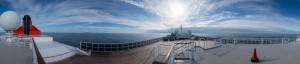 Panorama vom Lookout-Deck