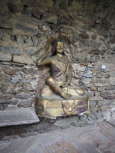 Statue von Milarepa