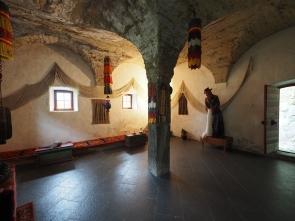 Tibetischer Meditationsraum