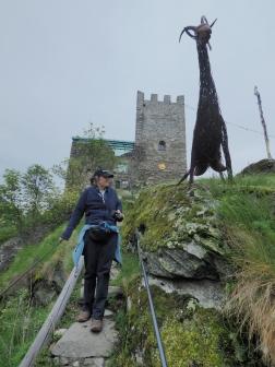 Schloss Juval, Heidekraut