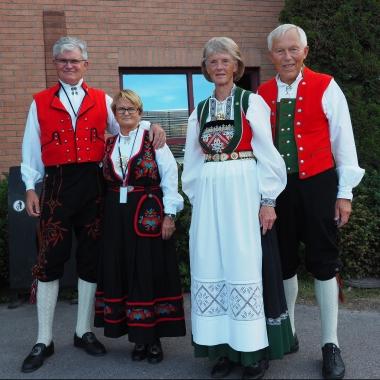 Trachten Norwegen, westlich Voss